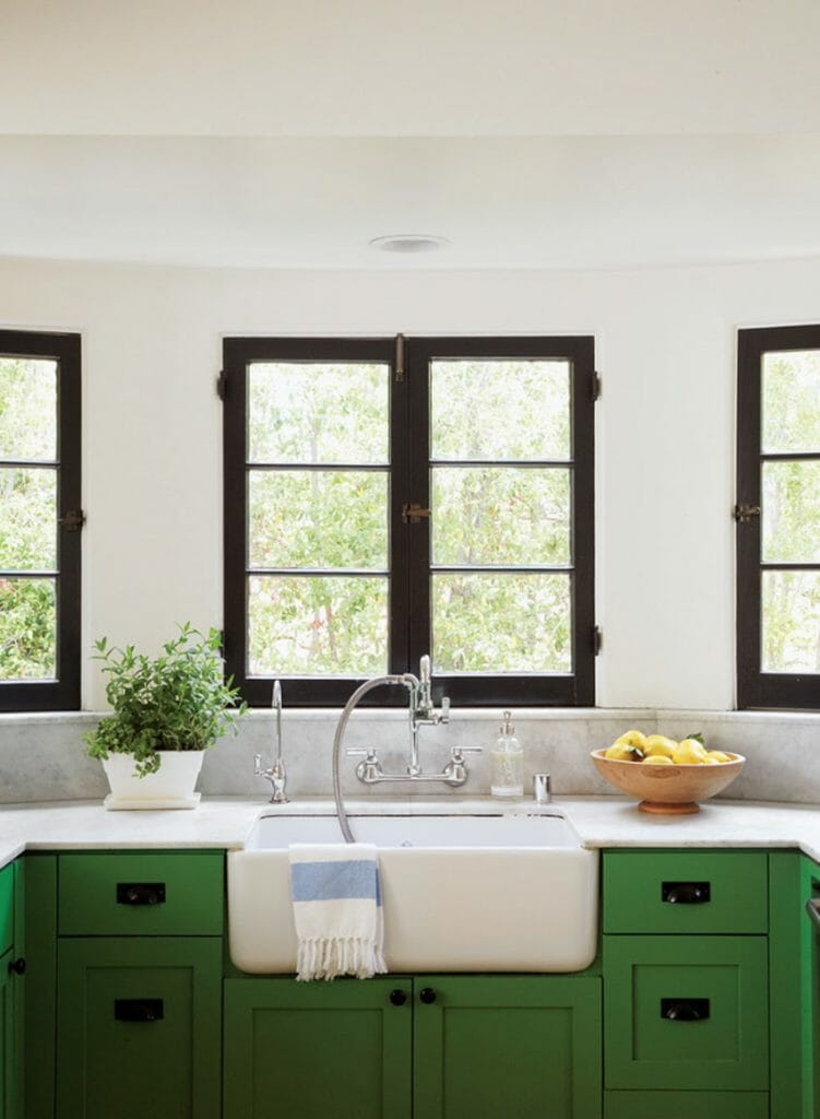 Black window trim modernize for Interior windows