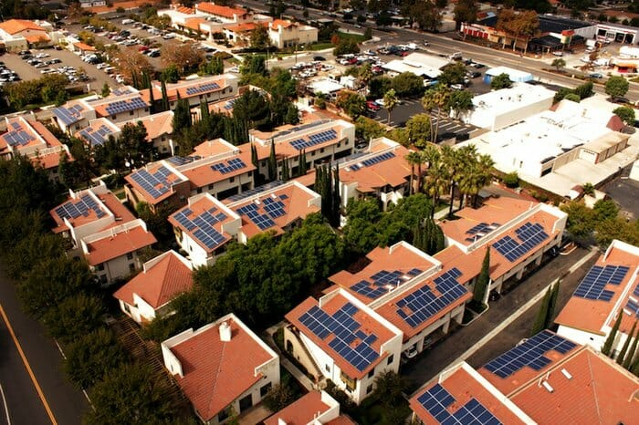 San Diego Solar Panels on House