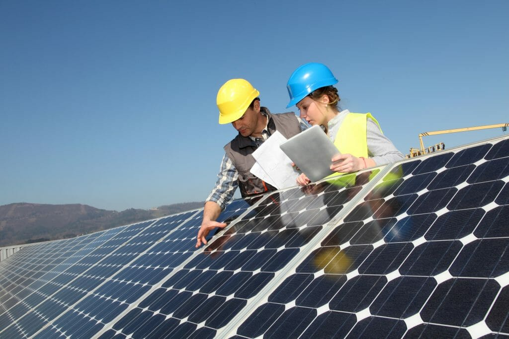 high quality solar panel installation