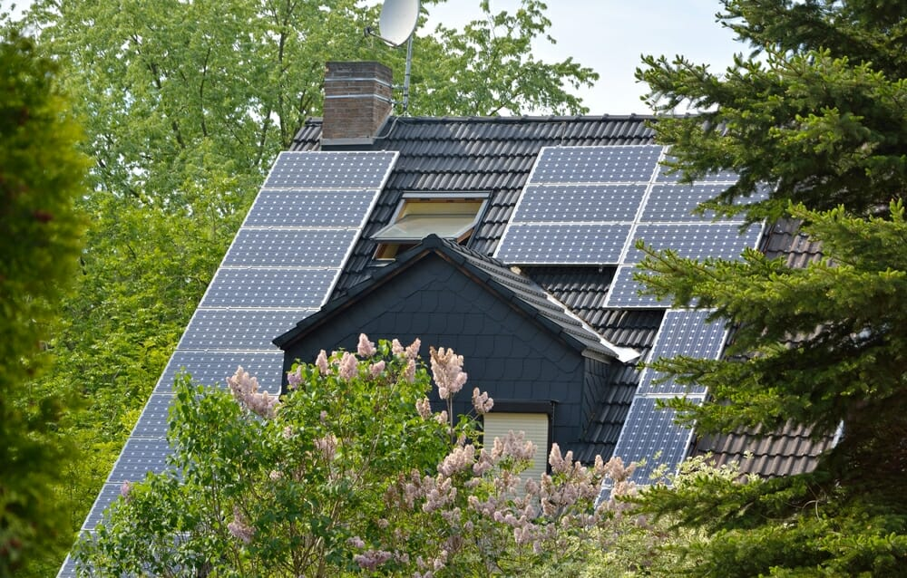horizontal vs vertical solar panels