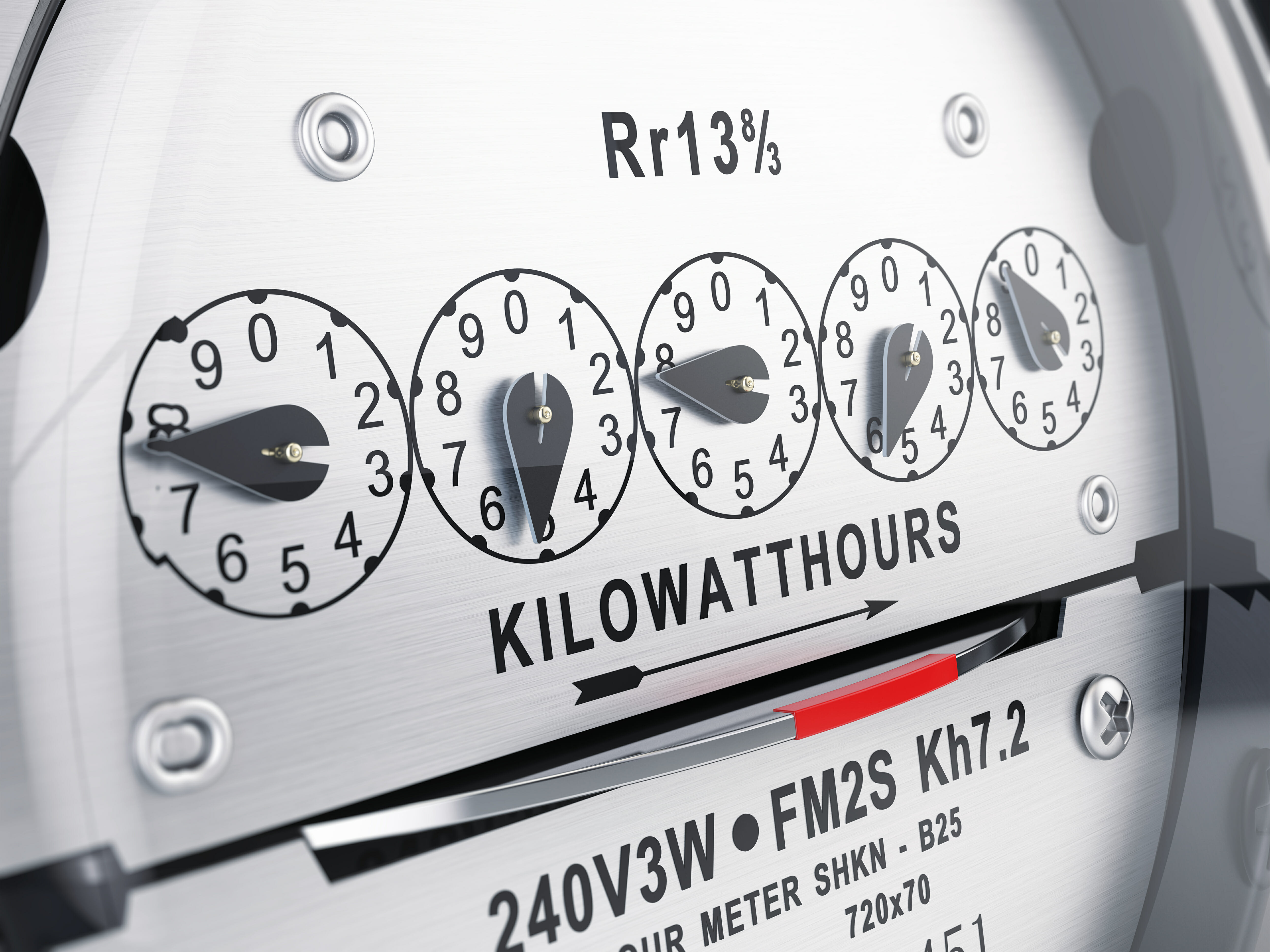 kilowatt hour energy meter