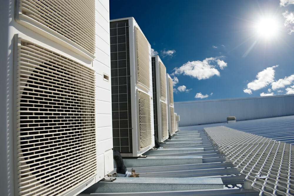 rooftop-hvac-under-a-sky