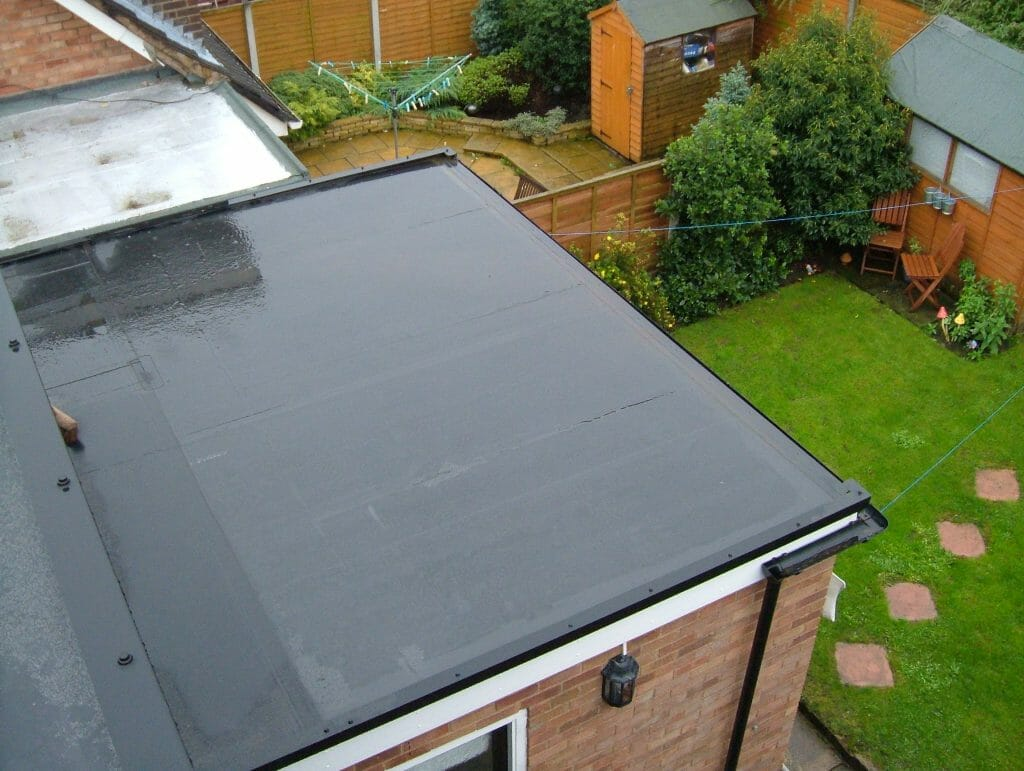 epdm flat roof replacement