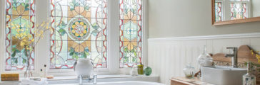 Our Favorite Stained Glass Windows for Modern Homes