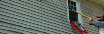 How to Clean Spots on Vinyl Siding