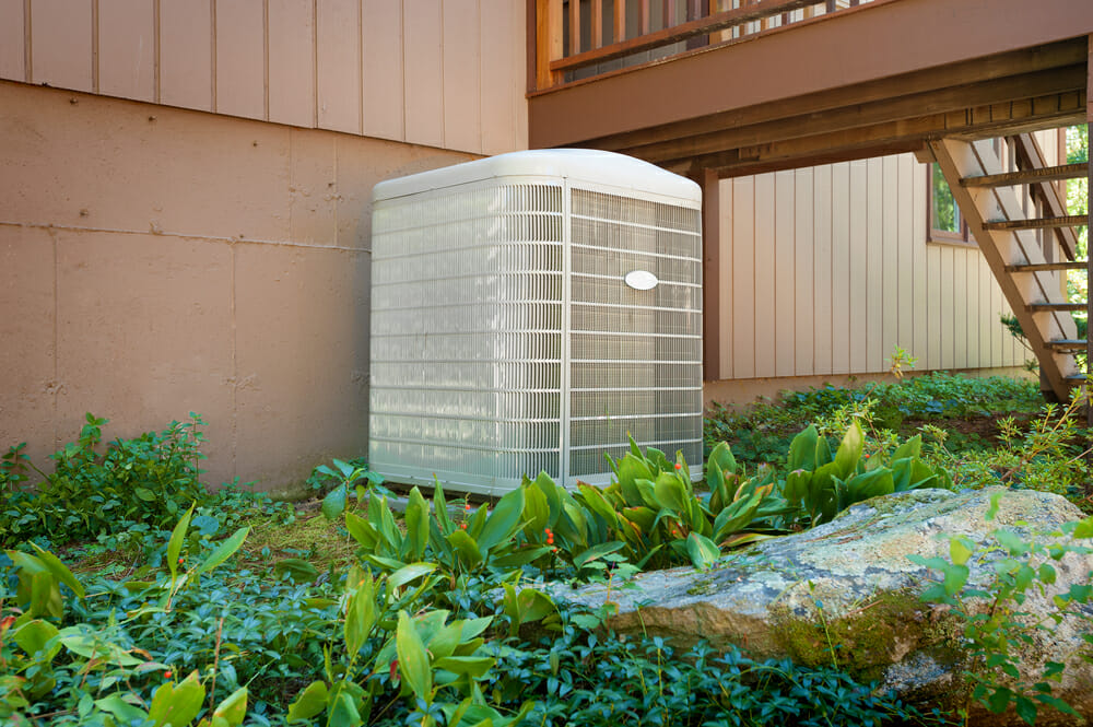 hvac-unit-in-foliage