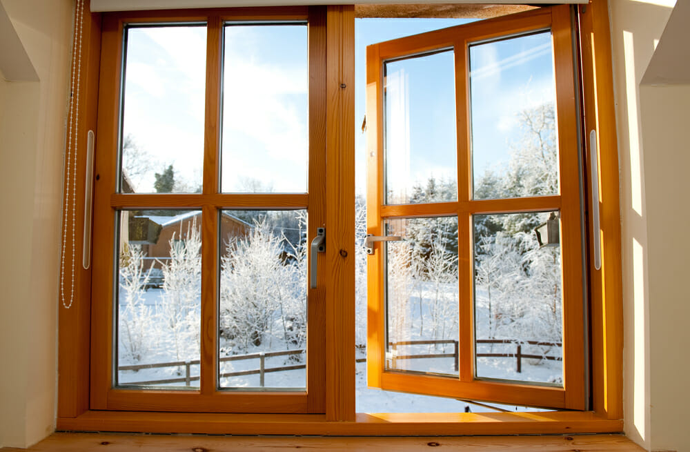 Scandinavian inspired window designs modernize for Wooden window design with glass