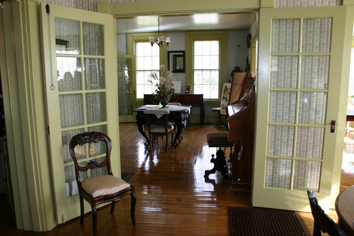 An idealistic image of an early 1900's style home.