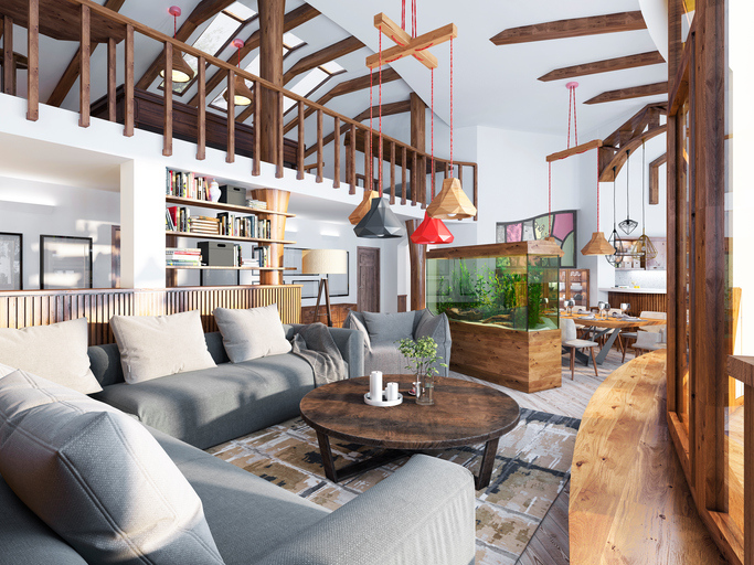 Rustic Living Room By Studio Sofield By Architectural: How To Raise The Roof On Your Home