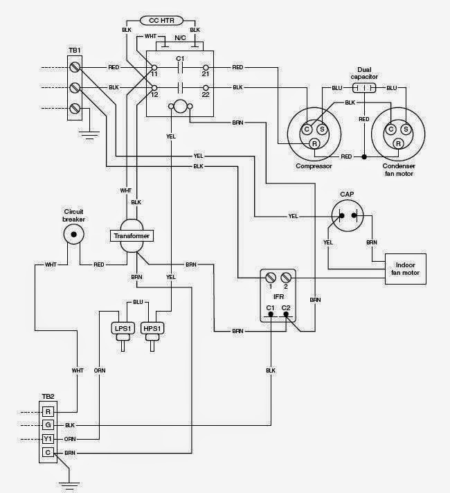 Hvac Unit Schematic on two stroke outboard engine diagram