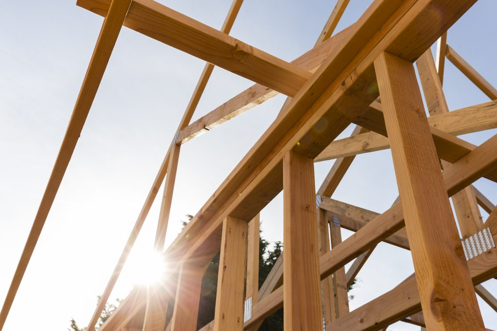 roof trusses construction