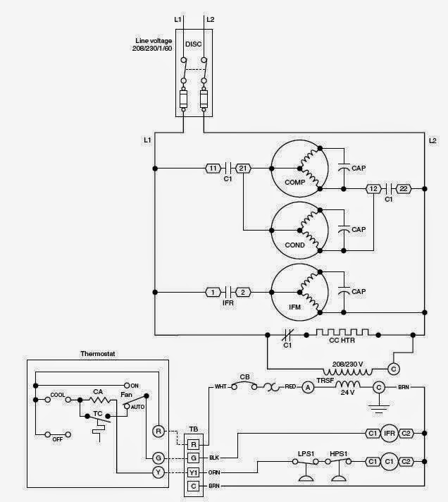 Schematic Diagrams for HVAC Systems - Modernize | Hvac Electrical Wiring Diagram |  | Modernize
