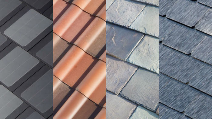 different solar roof options