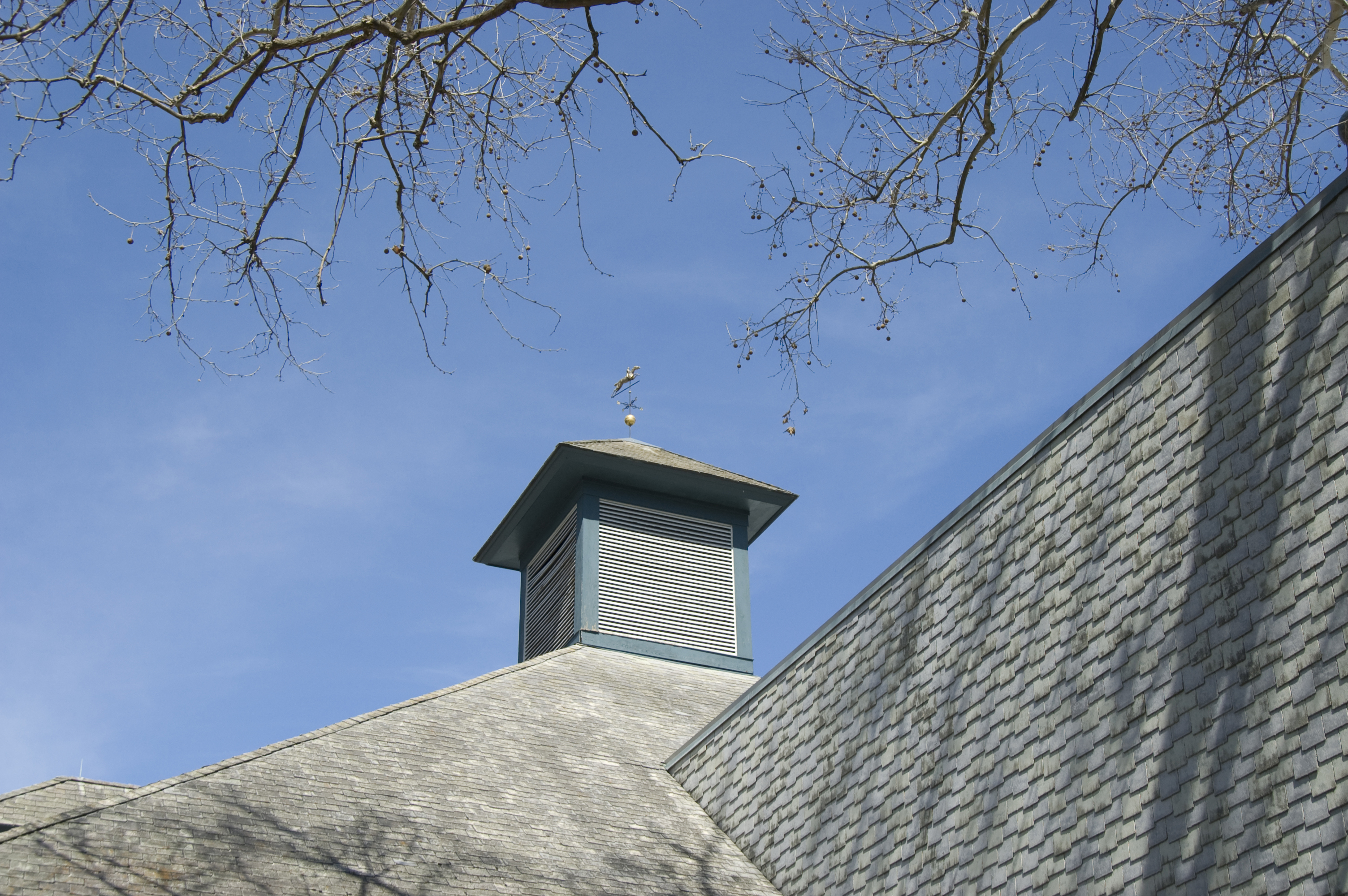 Cupola with Weathervane