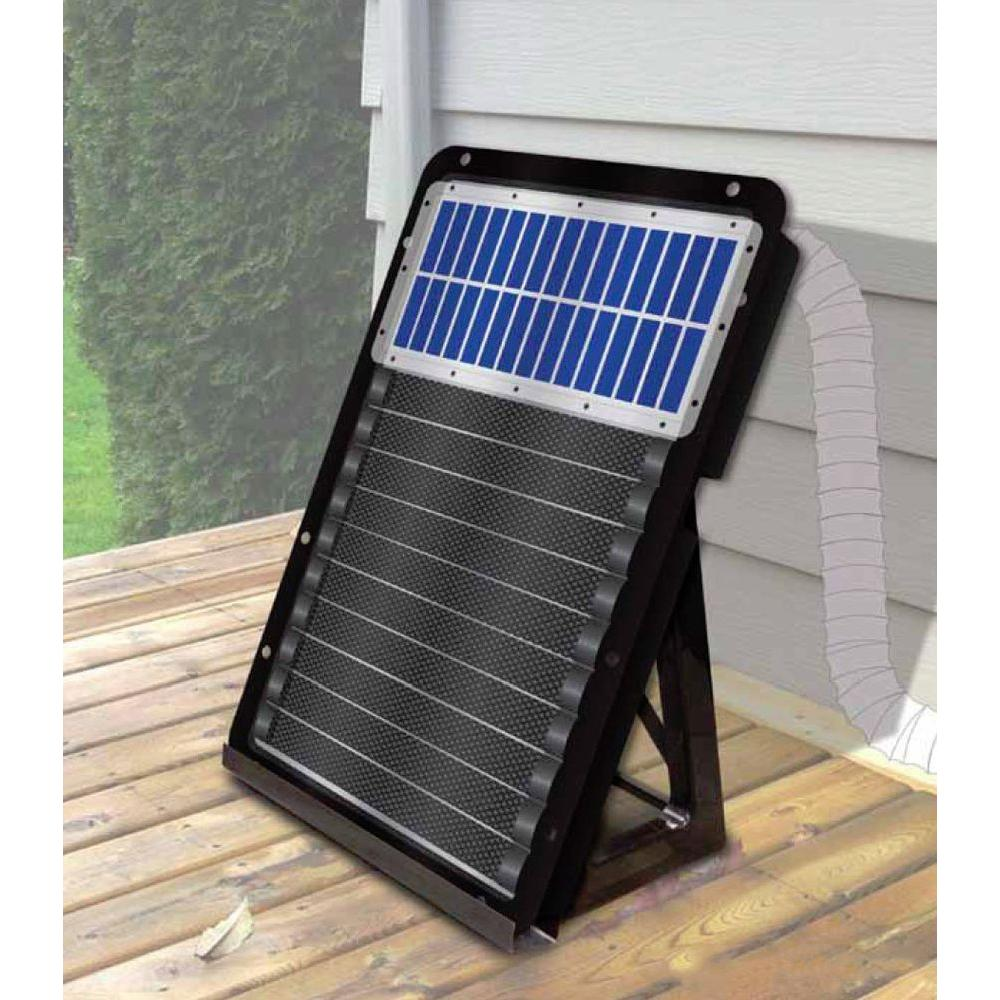 Using a Solar Garage Heater Modernize