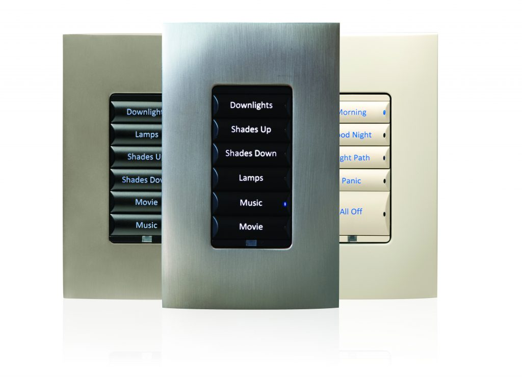 Control4 Smart Lighting - Keypads (Decora)