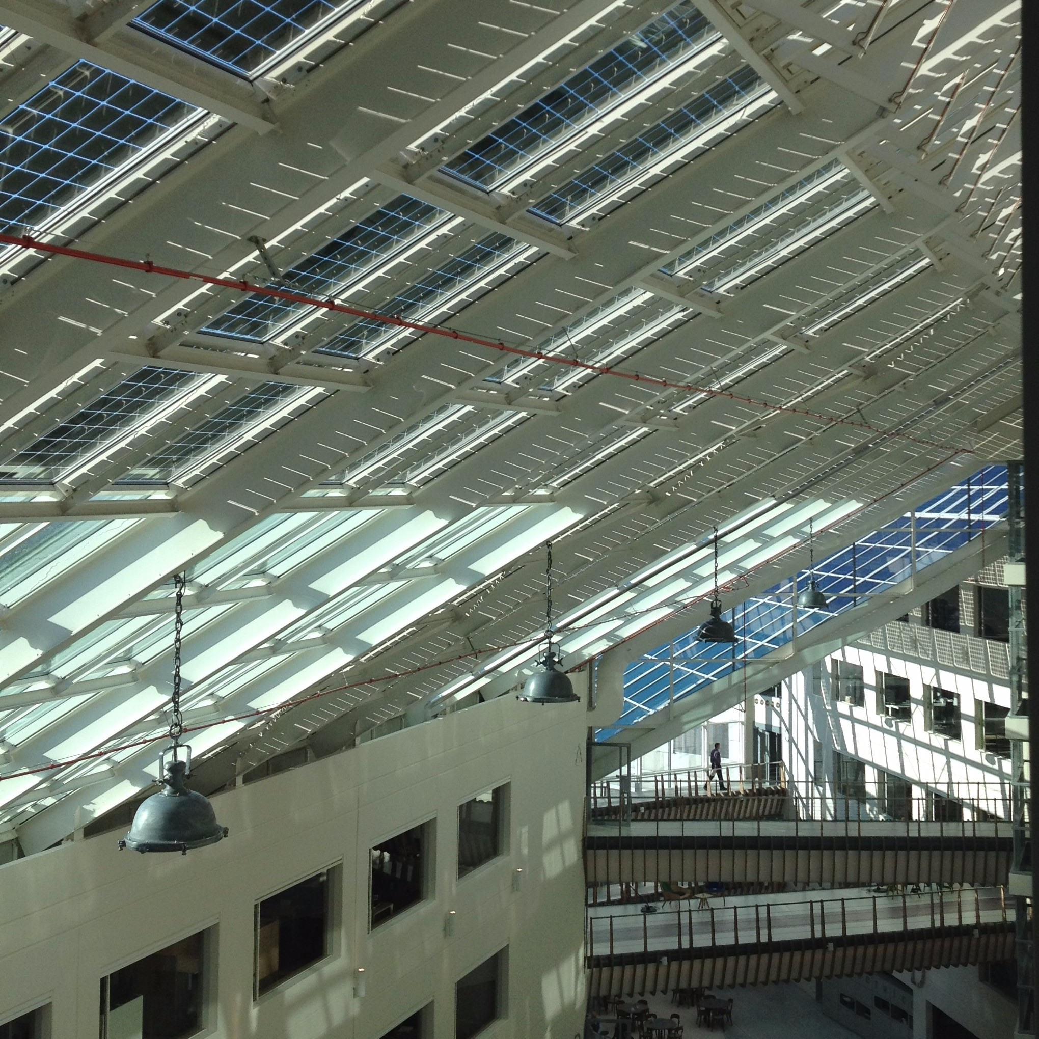 Solar BIPV at Alliander Group Site