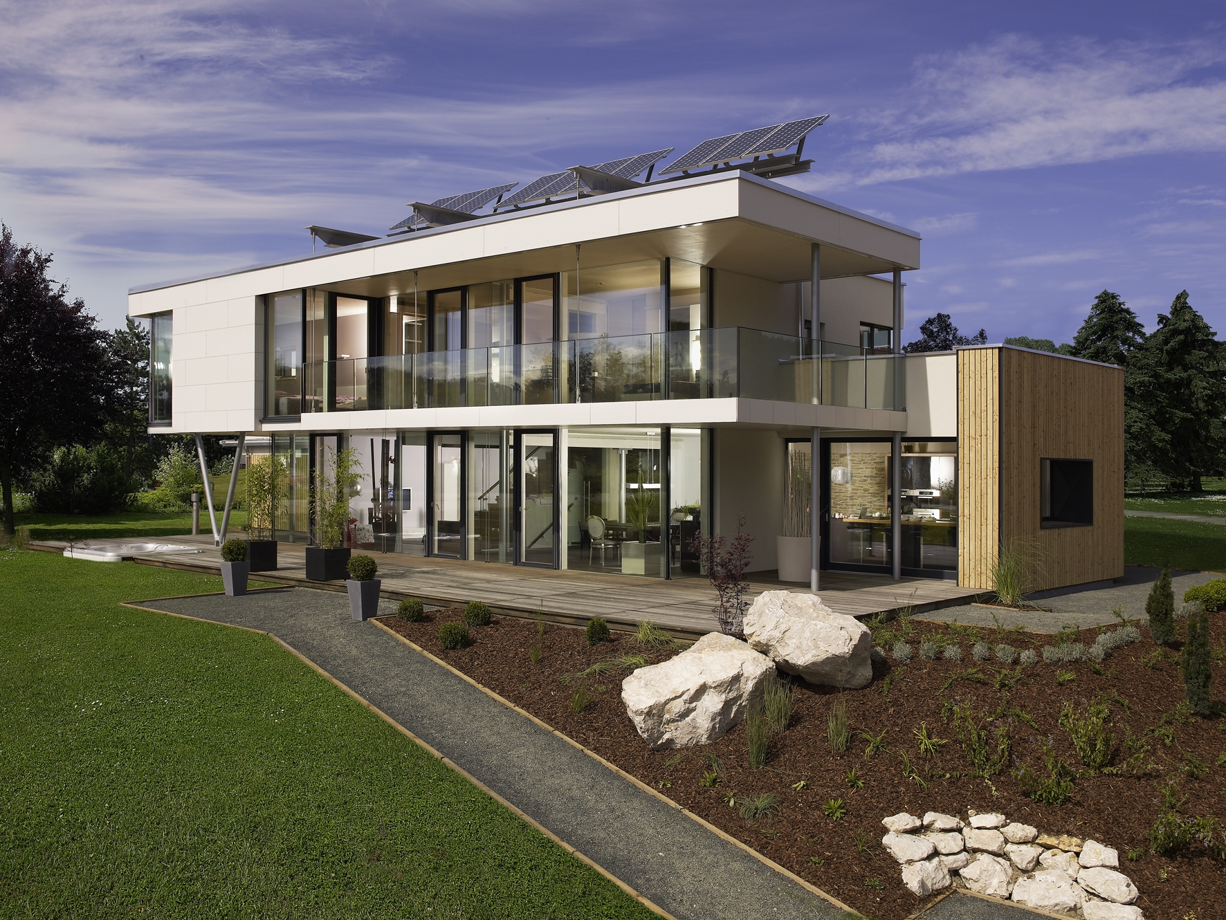 What are passive house standards modernize - Passive houses in germany energy and financial efficiency ...