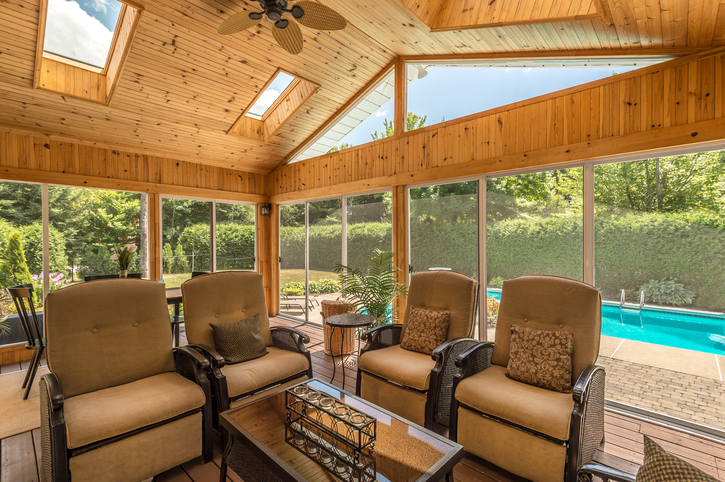 Heating And Cooling For Screened Porches Modernize