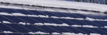 Solar Power Generation During Winter