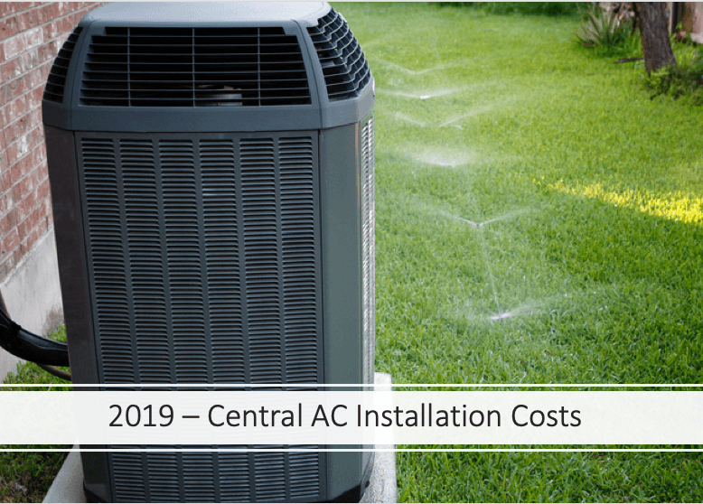 central ac costs