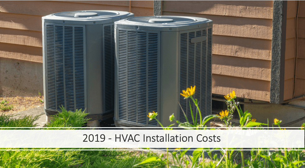 hvac installation costs