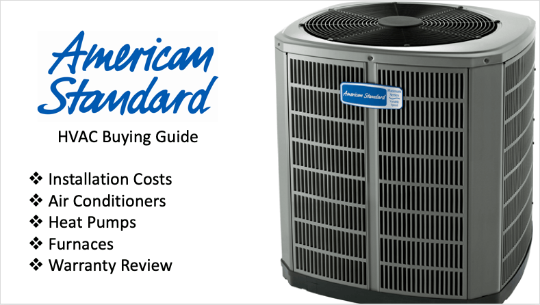 American Standard Air Conditioners Buying Guide Modernize
