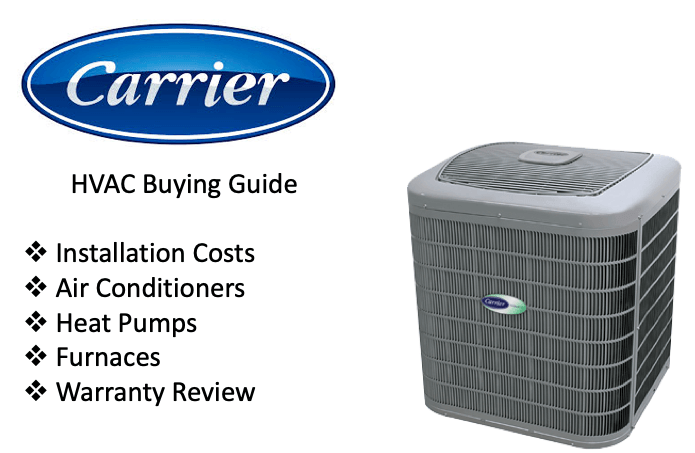 Carrier Air Conditioners - AC Unit Prices - 2019 Buying