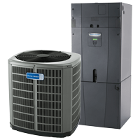new american standard furnace and central ac system
