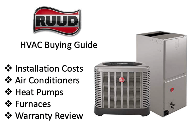 Ruud HVAC brand buying guide