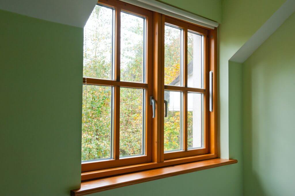 wood window frames
