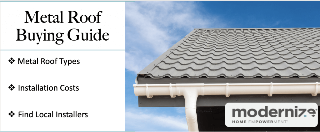 metal roofing costs guide