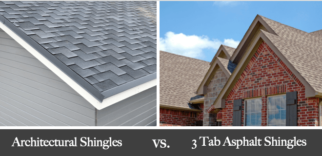 3 tab vs architectural shingles