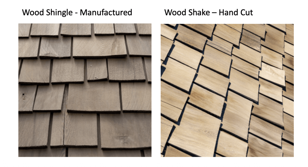 wood shingles vs shakes