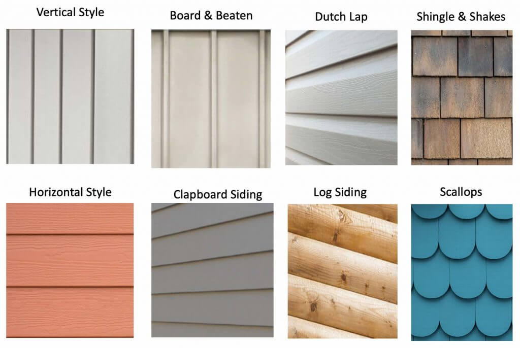 different vinyl siding styles