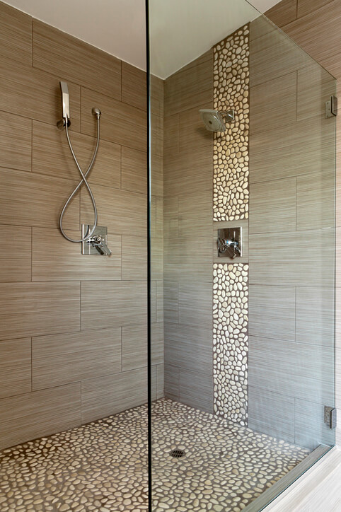 frameless shower type