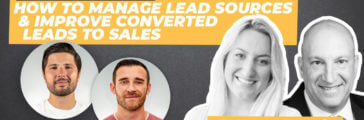 How to Manage Lead Sources and Turn Converted Leads to Sales