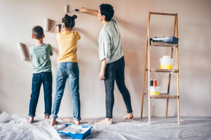 diy painting home